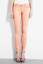 7 For All Mankind Peach Skinny Jean