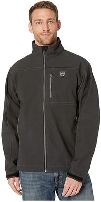Cinch Textured Bonded Jacket (Black) Men's Clothing