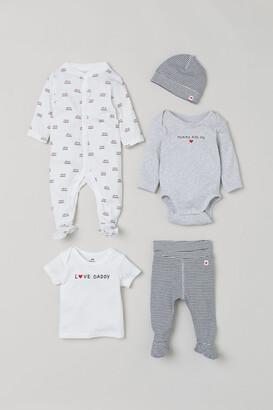 H&M 5-piece Gift Set - Gray