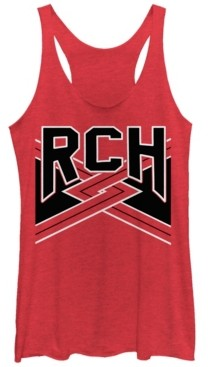 Fifth Sun Bring It on Rch Team Tri-Blend Racer Back Tank