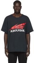 Rhude Black Rhonda 2 T-Shirt