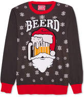 Hybrid Men's Santa Beerd Holiday Sweater