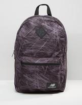 New Balance Jls16 Backpack In Black