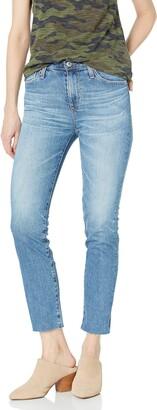 AG Jeans Women's Isabelle HIGH Rise Straight Leg Jean
