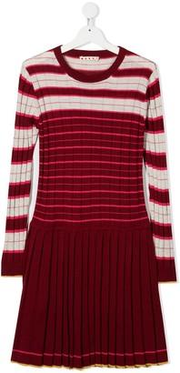 Marni Striped Knit Dress
