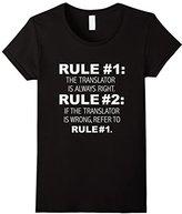 Kids Translator is always right funny t-shirt linguistics gift 4