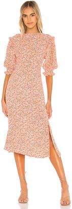 Faithfull The Brand Jean-Marie Midi Dress
