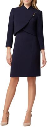 Tahari by Arthur S. Levine Tahari Asl Jacket Dress