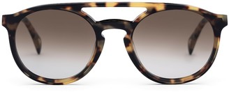 Larsson & Jennings Light Havana Aviator Sunglasses