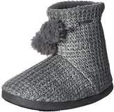Isotoner Women's Shaker Knit Myrna Boot Slipper