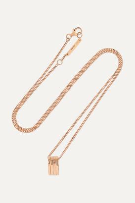Repossi Antifer 18-karat Rose Gold Necklace