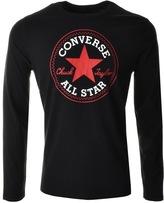 Converse Core Logo T Shirt Black