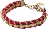 DEAL OF THE DAY - Mutrah Designed Jewelry - SLANG - Cinnamon - Red Pink Neon Designer Bracelet - DAILY DEALS