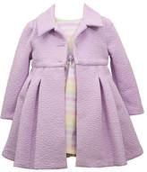Bonnie Jean Baby Girls Sleeveless Dress Set, 6-9 Months , Purple
