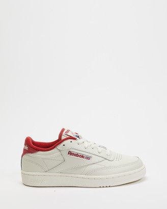 Reebok White Low-Tops - Club C 85 - Unisex - Size 8 at The Iconic