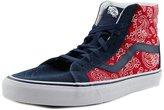 Vans Sk8-Hi Reissue Men US 10.5 Red Sneakers