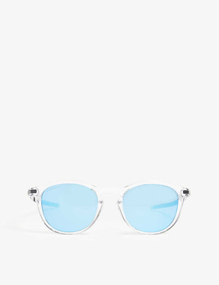 Oakley Pitchman R round-frame sunglasses