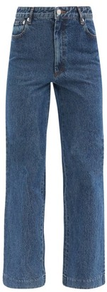 A.P.C. Sailor Straight-leg Jeans - Light Denim