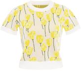Claudia Li Jacquard Knit T-Shirt