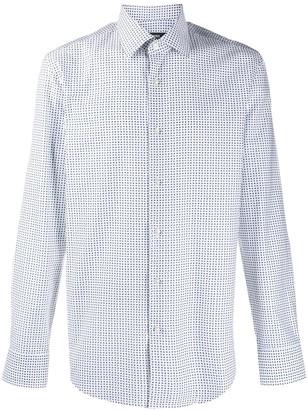 BOSS Geometric Print Shirt