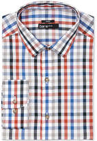 Bar III Men's Slim-Fit Stretch Easy Care Quatro Twill Gingham Dress Shirt, Created for Macy's