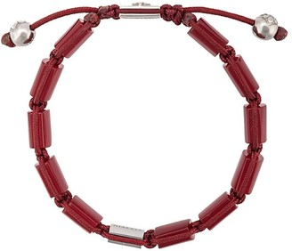 Nialaya Jewelry Dorje flat beaded bracelet
