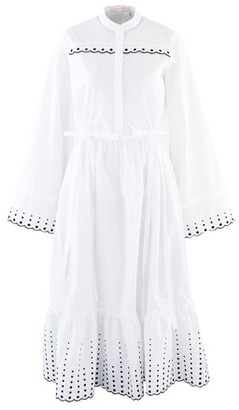 See by Chloe Long embroidered dress