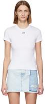 Off-White Off White White Rib T-Shirt