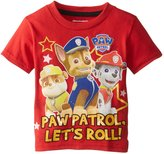 Nickelodeon Little Boys' Paw Patrol All-Star Team T-Shirt