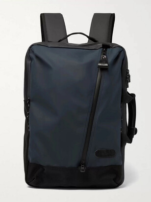 MASTERPIECE Slick Series CORDURA-Trimmed Coated-Shell Backpack - Men - Blue