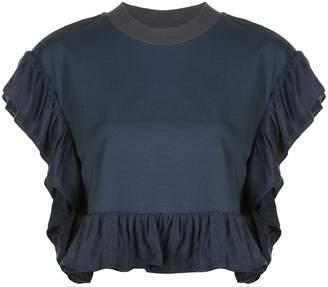 Opening Ceremony ruffled sleeve blouse