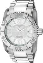 Swiss Legend Men's 10059-102 Commander Light Textured Dial Stainless Steel Watch
