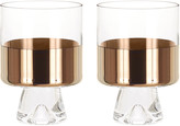 Tom Dixon Tank Low Ball Glasses - Set of 2