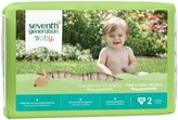 Seventh Generation Baby Free and Clear Diapers Stage 2 36ct.