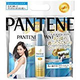 Pantene Japan Hair Products Silky Smooth Care refill 3 step system packs (Shampoo 300ml + Conditioner 300g + mini treatments 100ml) *AF27*
