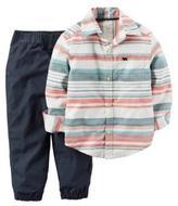Carter's Pants and Striped Shirt Playwear Set