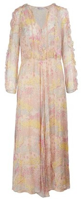 RED Valentino Silk crepe maxi dress