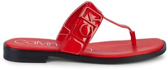 Calvin Klein Slip-On Thong Sandals