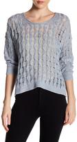 Inhabit Weekend Linen & Cashmere Blend Pullover Sweater