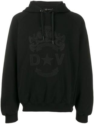 Versace Bandiera motif hoodie