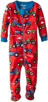 Hatley Baby-Boys' Footed Coverall Farm , Red, 3-6 Months
