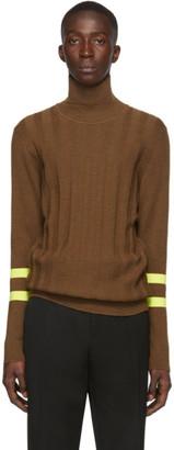 Paul Smith Orange Funnel Neck Sweater