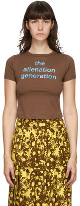 Marc Jacobs Brown Heaven by Alienation Generation Baby T-Shirt