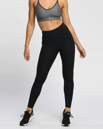 Under Armour Women's Black Tights - Rush Leggings - Size XS at The Iconic