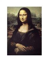 Leonardo 1art1 Posters Da Vinci Poster Art Print - Mona Lisa (20 x 16 inches)