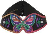 Manish Arora Butterfly Lurex & Leather Corset Belt