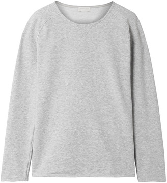 Hanro Pure Comfort Stretch Cotton-blend Jersey Sweater