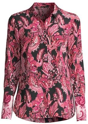 Kobi Halperin Lindy Paisley Silk Blouse