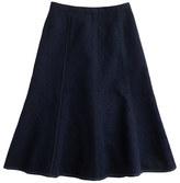 J.Crew Seamed matelassé skirt