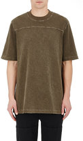 Yeezy Men's Cotton Football Jersey T-Shirt-DARK GREEN